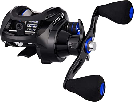 Piscifun Torrent 5.3:1 Low Profile Baitcasting Reel -...