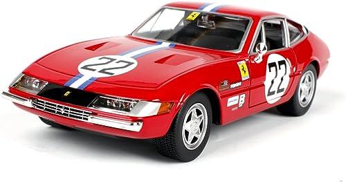 tienda hace compras y ventas Penao Ferrari 365 GTB4 Competición Aleación Coche Modelo de Simulación, Simulación, Simulación, Adornos de Coche, Relación 1 24  entrega de rayos