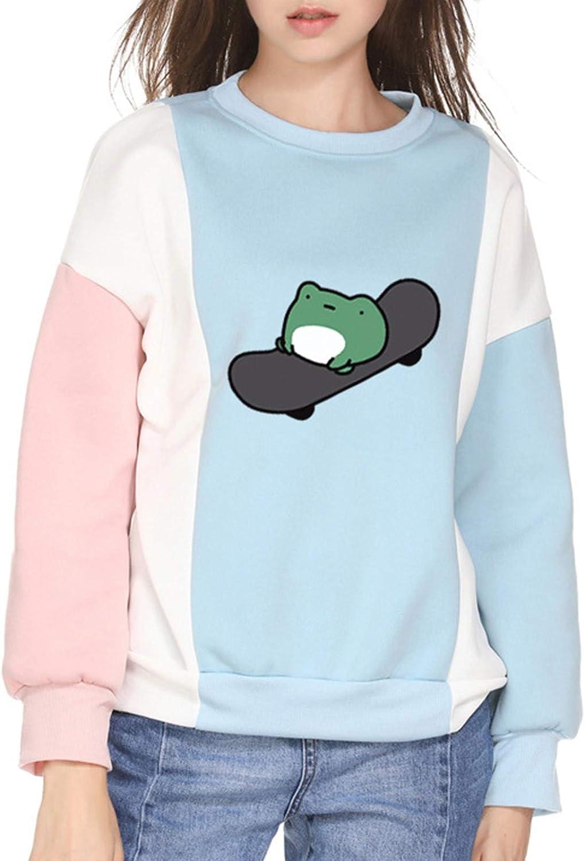 FUNEY Womens Casual Crewneck Tie Max 62% OFF Dye Spring new work Size Sweatshirt Cute Plus F