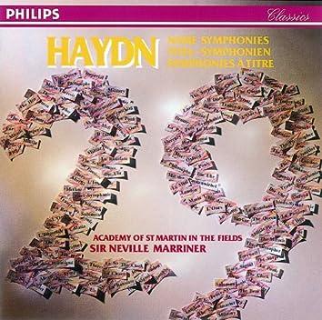 Haydn: 29 Named Symphonies