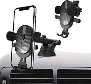 Universal Cell Phone Holder for Car Phone Mount Car Phone Holder Dashboard Windshield Air Vent Long Arm Strong Suction Cel...