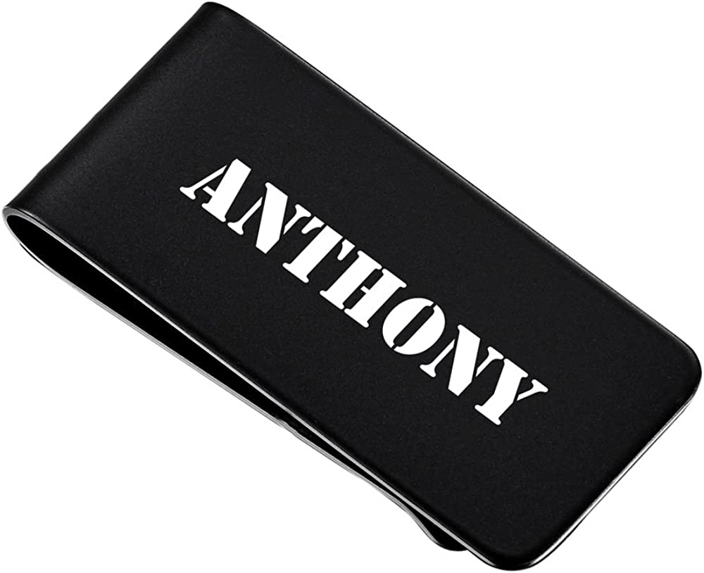 Personalized Visol Holmes Money Clip with Free Laser Engraving