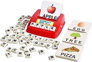 BOHS Literacy Wiz Fun Game - Upper Case Sight Words - 60 Flash Cards - Preschooler Language Learning Educational Toys