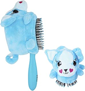 Wet Brush Detangler Plush Puppy Hair Brush - Blue, 1 Ea, 1count