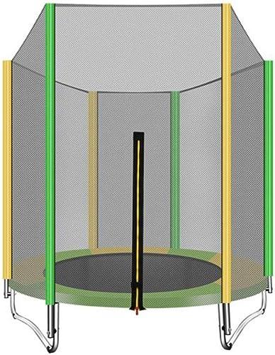 KY de plein air Trampoline Jardin 1,5 M Rond Enfants Adultes Mini Trampoline en Plein Air Exercice Maison Jouets Sautant Lit Charge Max 200KG