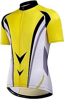 Fascigirl Men Cycling Shirt Breathable Biking Shirt Boy Jersey for Spring Summer