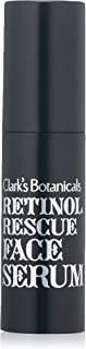 Clark's Botanicals Retinol Rescue Face Serum, Oil-Free, Anti-Aging, Brightening, Moisturizing, Redness Reducer, Soothing, 1 Fluid Ounce