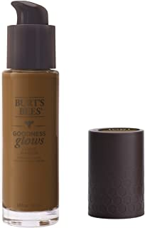 Burt's Bees Goodness Glows Liquid Foundation, Deep Maple, 1.0 Ounce