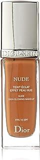 Christian Dior Diorskin Nude Skin Glowing Makeup SPF 15 - Dark Beige