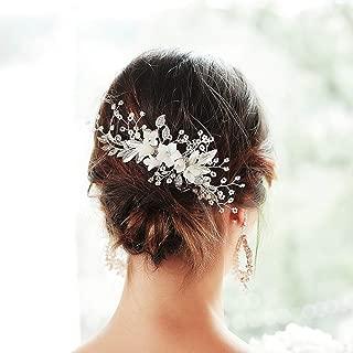 Best bridal hair comb pearl Reviews