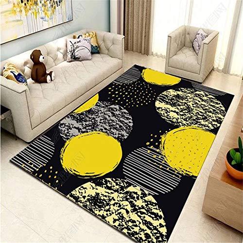 obchyc Creative Planet Pattern Teppich Abnehmbarer Teppich Kinderzimmer Unterhaltungsfläche Teppich Wohnzimmer Kindergarten Unschlagbare Waren - 120X160Cm_Carpet