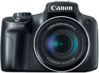 Canon PowerShot SX50 HS 12MP Digital Camera with 2.8-Inch...