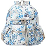 imperial armour 13 - Lesportsac Voyager Backpack (Flower Cluster Khaki)