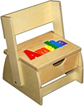 Damhorst Toys & Puzzles Step 'n Store Name Puzzle Stool