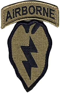25th Infantry Division with Airborne Tab - OCP Patch with Hook Fastener