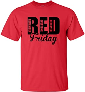 RED Friday Remember Everyone Deployed Short Sleeve T-Shirt