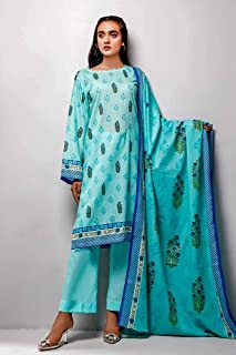 3-Piece Unstitched Lawn Suit CL-740B by Gul Ahmed