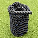 METIS Cuerda de Batalla │Battle Rope de Fitness │ Longitud 9m/12m/15m Grosor 38/50mm (9m, 38mm)