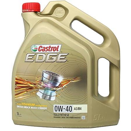 Castrol 24875 Edge A3 B4 0w 40 A3 B4 Motorenöl 5l Auto
