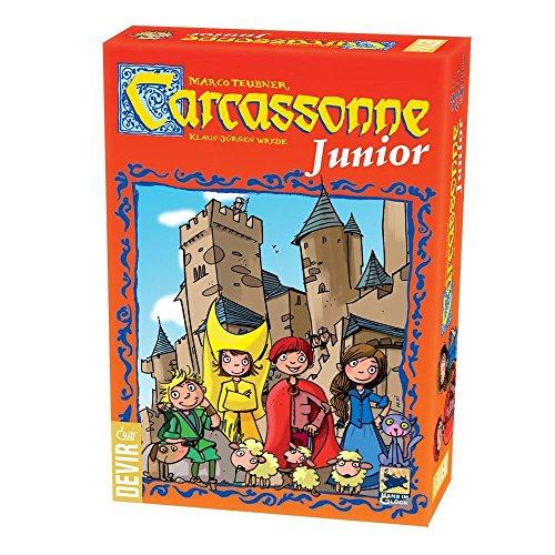 Devir- Carcassonne Junior Juego de Mesa