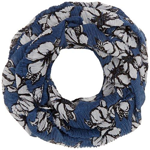 TOM TAILOR Damen amazing flower loop Trilby, Blau (Real Navy Blue 6593), One Size