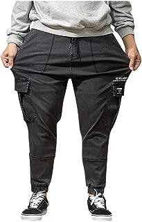 Pants for Men,IHGTZS Men Summer Pants Casual Long Skate Board Stright Fashion Pocket Plus Size Jeans