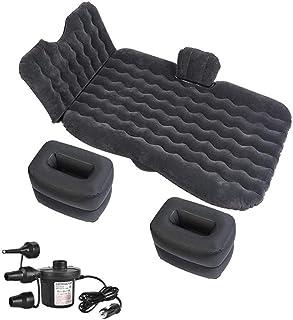 Cojín de descanso para cama de viaje inflable de coche, para asiento trasero universal, para sofá, almohada para exteriores, multifunción, para acampada