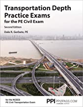 Transportation Depth Practice Exams for the PE Civil Exam