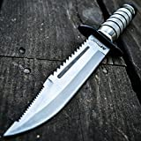 M-Tech 10' Tactical Survival Rambo Hunting Fixed Blade Knife Army Bowie w/Sheath