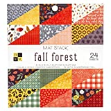 DCWV Fall Forest Cardstock, Multi