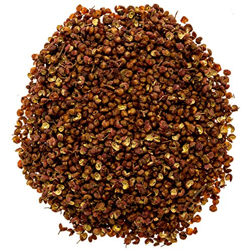 Soeos Authentic Szechuan Grade A Red Sichuan Peppercorns