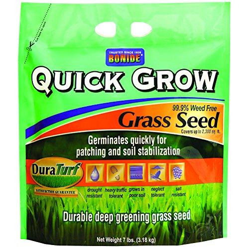 Bonide 60264 Quick Grow Grass Seed, 7-Pound