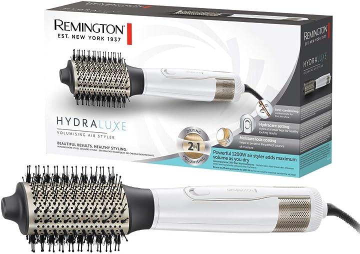 Spazzola capelli ad aria volumizzante remington as8901 hydraluxe AS8901