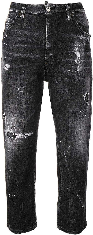 Dsquared2 Women's S75LB0158S30357900 Black Cotton Jeans