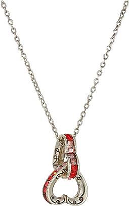 Spectrum Petite Heart Necklace