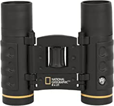 National Geographic 8x21 Foldable Performance Roof Binoculars