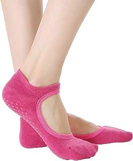 Panda Bros Yoga Socks for Women Non-Skid Socks with Grips for Pilates,Barre,Ballet,Dance
