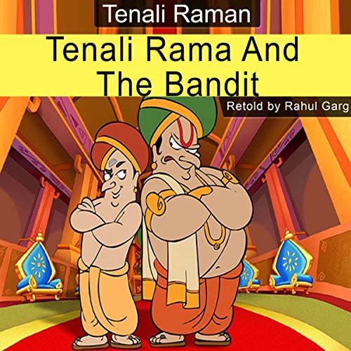 Tenali Rama and the Bandit audiobook cover art