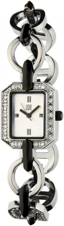 Reloj light time, orologio da donna, in metallo e cristalli 8054726935902