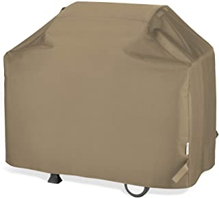 UNICOOK Barbecue Gas Grill Cover 55 Inch, Waterproof BBQ Cover with Seam Taped, Rip and Fade Resistant, Fits Most Brands G...