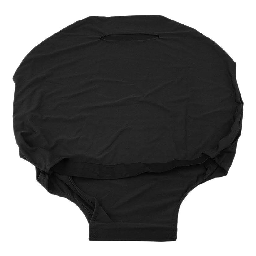 メッセージ経験的ラップSaikogoods 24/28インチスーツケース荷物のために屋外旅行高弾性ソリッドカラー防塵荷物スーツケース保護カバー 黒