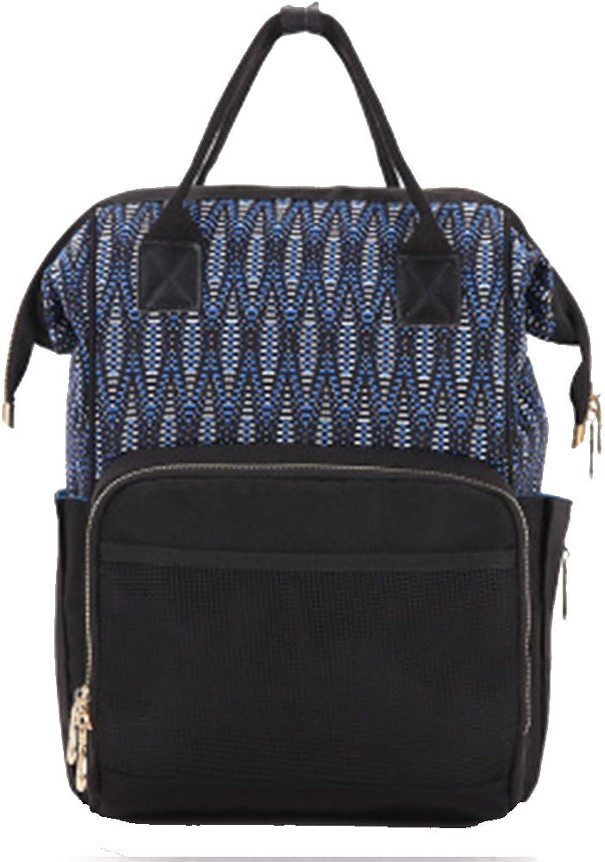 New multifunctional fashion double shoulder large capacity Mommy bag