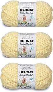 Bulk Buy: Bernat Baby Blanket Yarn (3-Pack) Baby Yellow 161103-3615