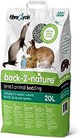 Back 2 Nature 10B2N20 Biodegradowalny Żwirek dla Małych Zwierząt, 20 l