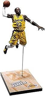 "NBA 2K19 McFarlane Lebron James 7"" Figurine 20th Anniversary Edition Action Figure"