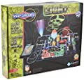 Snap Circuits LIGHT Electronics Exploration Kit | Over 175 Exciting STEM Projects | Full Color Project Manual | 55+ Snap Circuits Parts | STEM Educational Toys for Kids 8+,Multi from Elenco Electronics Inc