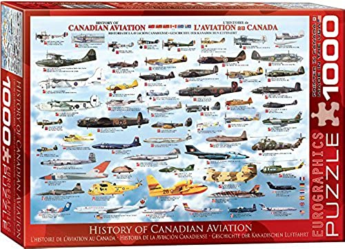 EuroGraphics History Canadian Aviation 1000 Piece Puzzle by EuroGraphics