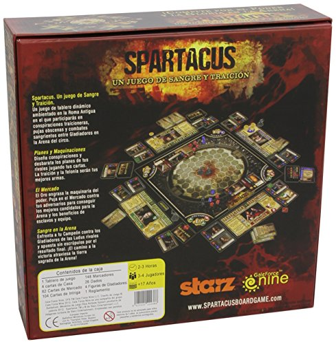Devir - Spartacus, Juego de Mesa (9420020222366): Amazon.es ...
