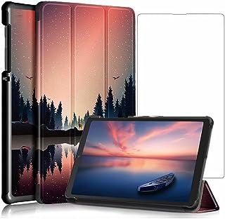 جراب Doao لهاتف Samsung Galaxy Tab S7 FE - جراب واقٍ - جراب صلب لهاتف Samsung Galaxy Tab S7 FE-أسود