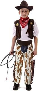 yolsun Cowboy Costume، Role Play for Kid، Pretend Play Dress